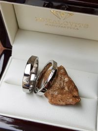zsofi and benedeks titanium stainless steel wedding ring